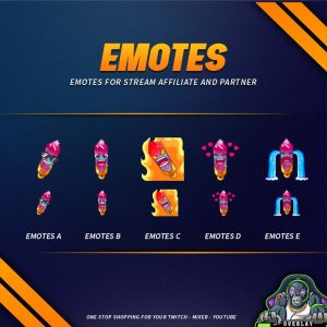 emote,preview,crystal pendant,overlaytemplate.com