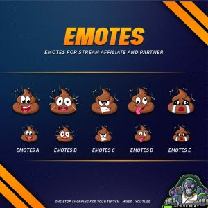 emote,preview,poop,overlaytemplate.com
