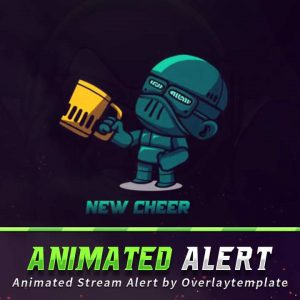animated alert,preview,handgun,overlaytemplate.com