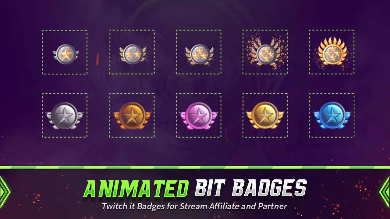 animated bit badges,preview,star,overlaytemplate.com