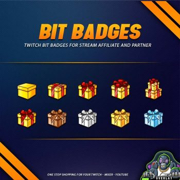 bit badges,preview,christmas present,overlaytemplate.com