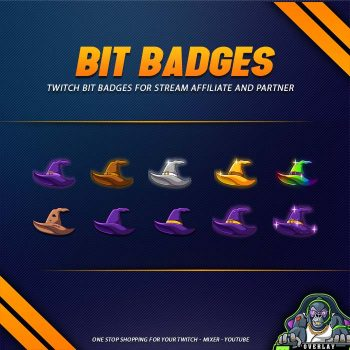 bit badges,preview,witch hat,overlaytemplate.com