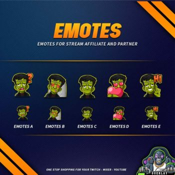 emote,preview,frankenstein,overlaytemplate.com