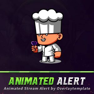 animated alert,preview,cheft,overlaytemplate.com