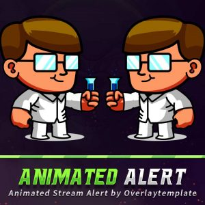 animated alert,preview,prof,overlaytemplate.com