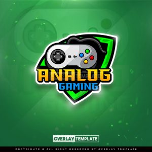 logo,preview,analog gamers,overlaytemplate.com