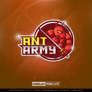 logo,preview,ant knight,overlaytemplate.com