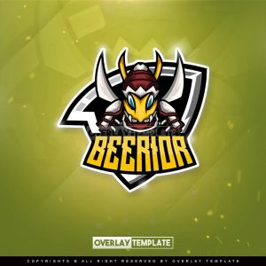 logo,preview,bees warrior,overlaytemplate.com