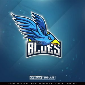 logo,preview,blues,overlaytemplate.com