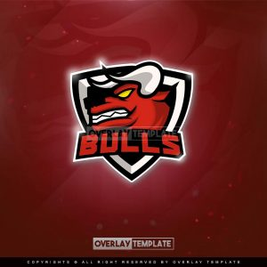 logo,preview,bulls,overlaytemplate.com