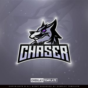 logo,preview,chaser gaming,overlaytemplate.com