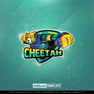 logo,preview,cheetah gamer future,overlaytemplate.com