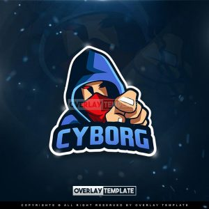 logo,preview,cyborg,overlaytemplate.com