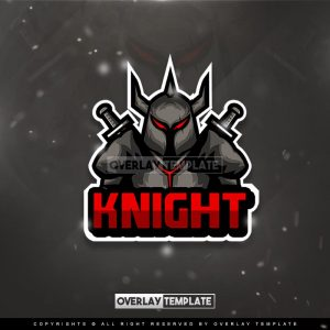 logo,preview,dark knight,overlaytemplate.com