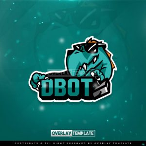 logo,preview,dbot gaming,overlaytemplate.com