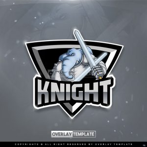 logo,preview,elephant with armor,overlaytemplate.com