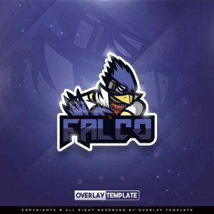 logo,preview,falco,overlaytemplate.com
