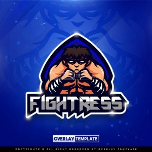 logo,preview,fightress,overlaytemplate.com