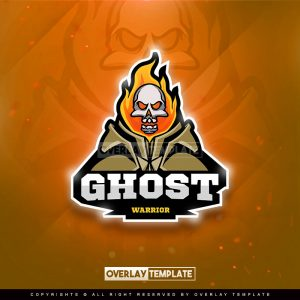 logo,preview,ghost warrior,overlaytemplate.com