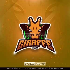 logo,preview,giraffe gamez,overlaytemplate.com