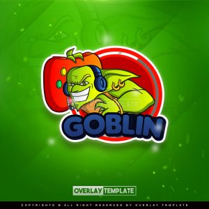 logo,preview,goblin gamer,overlaytemplate.com