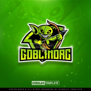 logo,preview,goblin orc,overlaytemplate.com