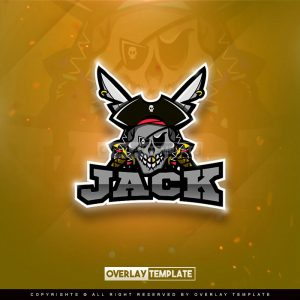 logo,preview,jack pirate,overlaytemplate.com