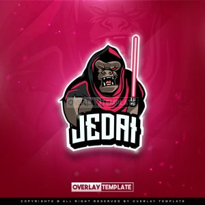 logo,preview,jedai knight,overlaytemplate.com
