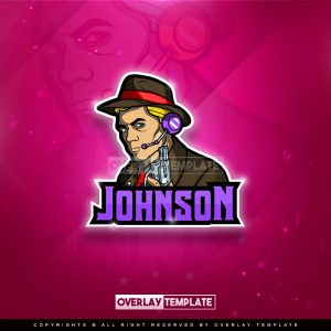 logo,preview,johnson,overlaytemplate.com
