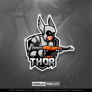 logo,preview,like a thor,overlaytemplate.com