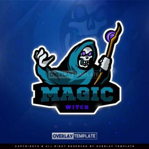 logo,preview,magic witch,overlaytemplate.com