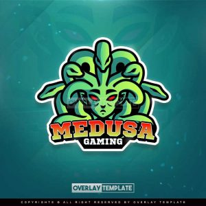 logo,preview,medusa,overlaytemplate.com