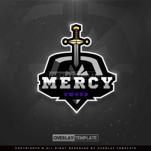 logo,preview,mercy sword,overlaytemplate.com