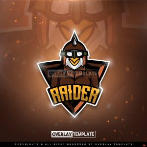 logo,preview,raider chicken,overlaytemplate.com