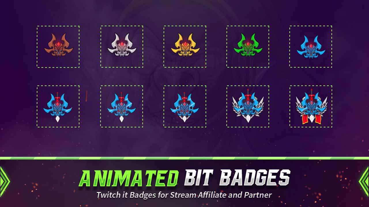 animated bit badges,preview,monster2,overlaytemplate.com