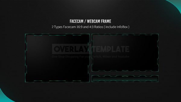 animated overlay package,preview facecam,scarlet,overlaytemplate.com