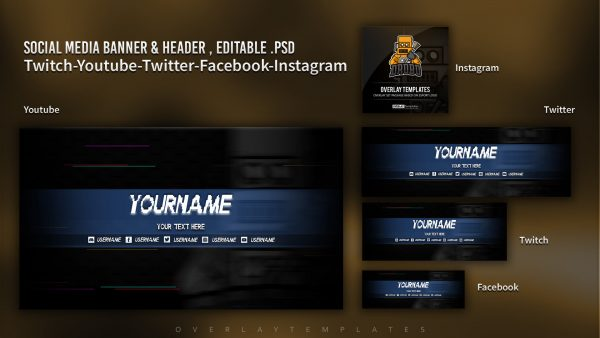 animated overlay package,preview,banner,drobo,overlaytemplate.com