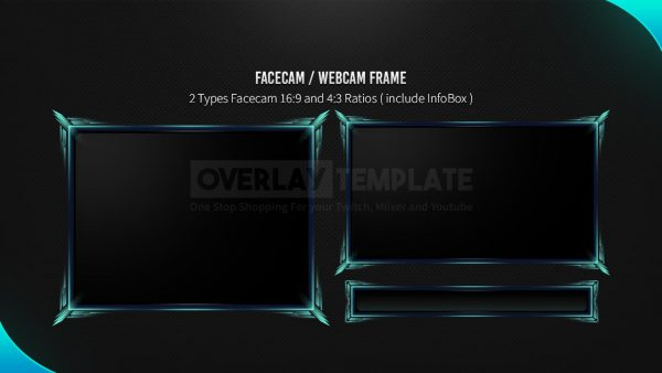 animated overlay package,preview,facecam,dartmouth,overlaytemplate.com