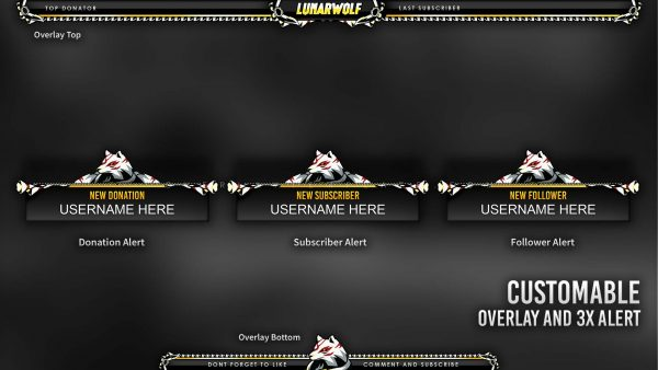 animated overlay package,preview,overlay alert,overlaytemplate.com