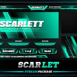 animated overlay package,thumbnail,scarlet,overlaytemplate.com