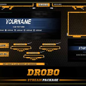 animated overlay,preview,drobo,overlaytemplate.com