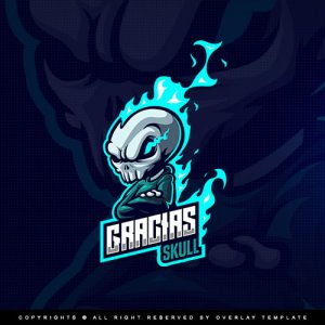 logo,preview,graciasskull,templateoverlay