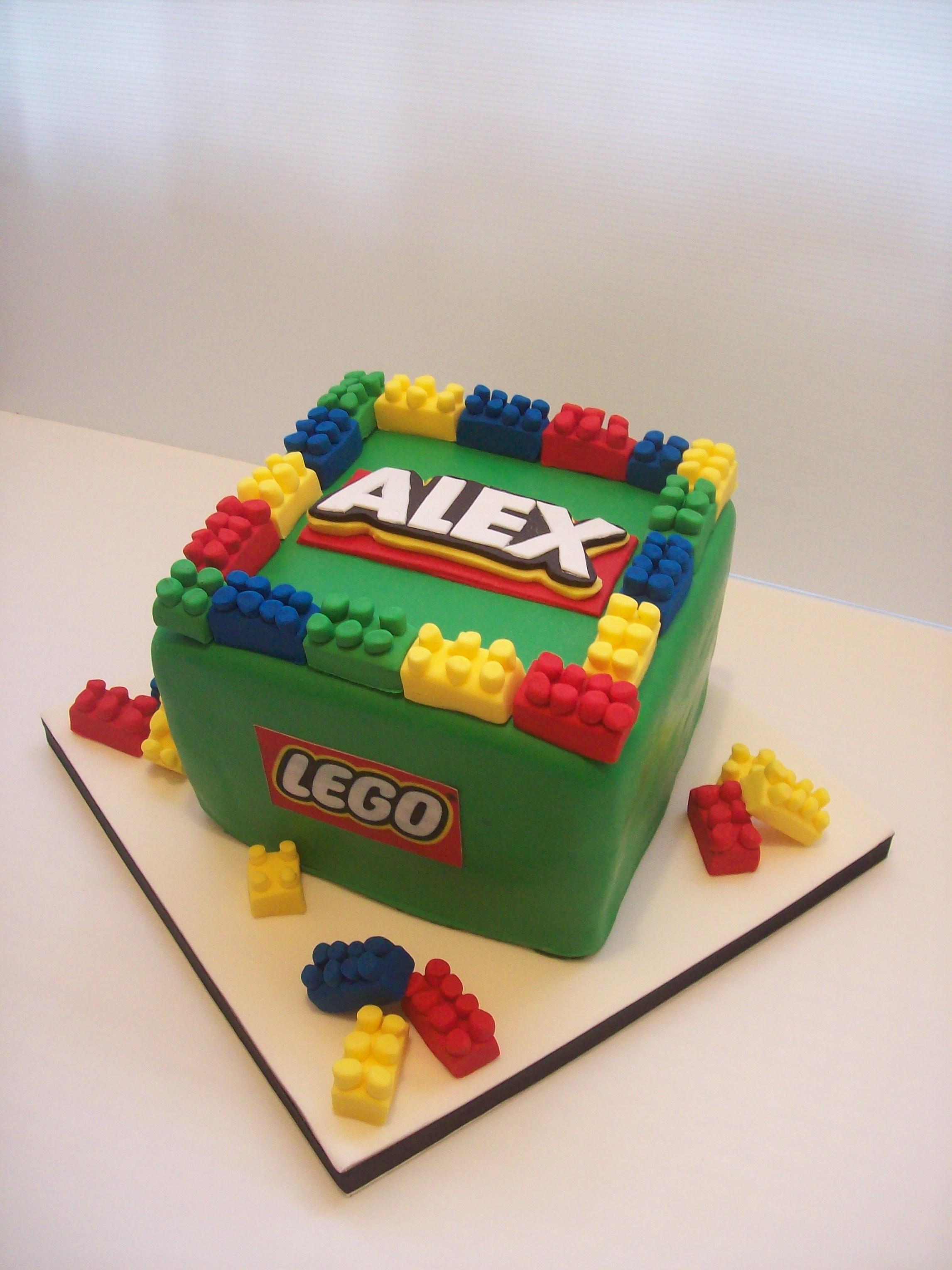 Lego Cube Cake 299 Temptation Cakes Temptation Cakes