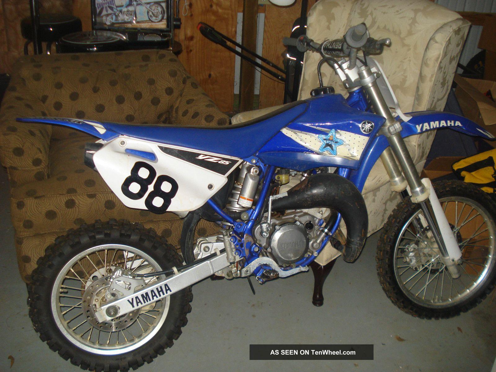 Yamaha How 80cc Bike Dirt Big