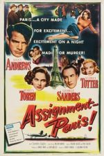 Nonton Film Assignment: Paris (1952) Subtitle Indonesia Streaming Movie Download