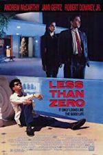 Nonton Film Less Than Zero (1987) Subtitle Indonesia Streaming Movie Download
