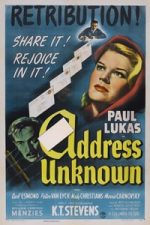 Nonton Film Address Unknown (1944) Subtitle Indonesia Streaming Movie Download