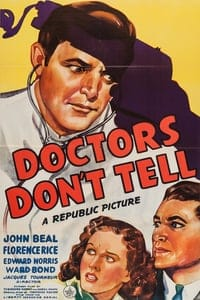 Nonton Film Doctors Don't Tell (1941) Subtitle Indonesia Streaming Movie Download