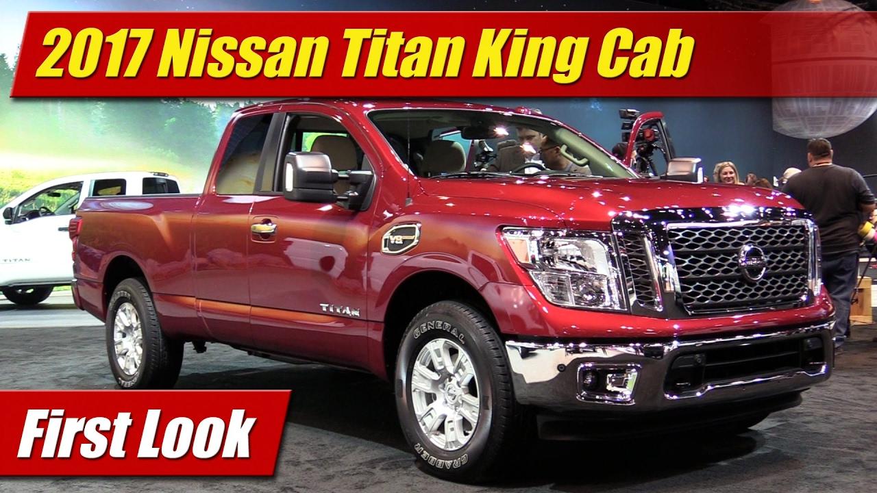 First Look 2017 Nissan Titan King Cab Testdriven Tv
