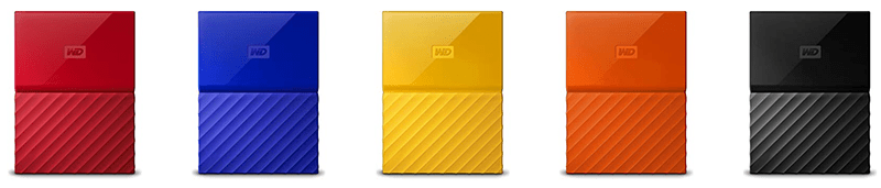 Western Digital My Passport Disque- dur externe portable-USB 3.0